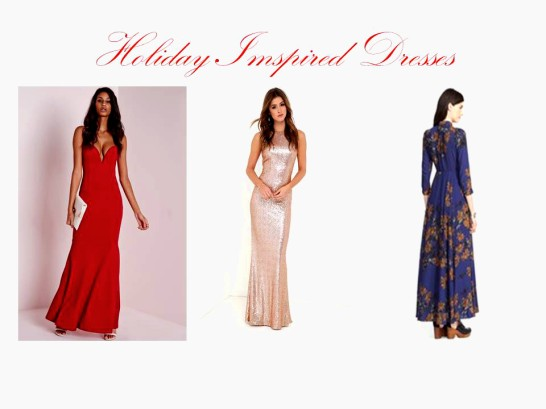 Holiday Imspired Dresses